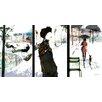 """Atelier Contemporain Leinwandbild """"Scenes"""" von Sophie Griotto, Grafikdruck"""