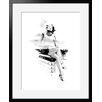 """Atelier Contemporain Gerahmtes Poster """"Paris"""" von Hossein, Kunstdruck"""