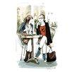 """Atelier Contemporain Leinwandbild """"Parisiennes"""" von Sophie Griotto, Kunstdruck"""