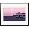 Atelier Contemporain Pink Motel by Clément Dezelus Framed Graphic Art