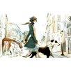 Atelier Contemporain Leinwandbild St Germain, Grafikdruck von Sophie Griotto