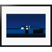 Atelier Contemporain Suburban Night by Clément Dezelus Framed Graphic Art