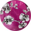 """Madhouse By Michael Aram 7"""" Orchid Melamine Luncheon Plate"""