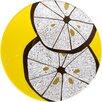 "Madhouse By Michael Aram Madhouse 7"" Lemonwood Melamine Luncheon Plate"