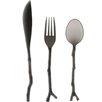 Madhouse By Michael Aram Madhouse 12 Piece Translucent Twig Assorted Flatware Set