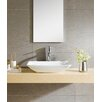 Fine Fixtures Modern Vitreous Rectangle Vessel Bathroom Sink