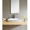 Fine Fixtures Modern Vitreous Modern Vessel Bathroom Sink