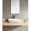 Fine Fixtures Modern Vitreous Rectangular Vessel Bathroom Sink