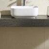 """Fine Fixtures Vitreous China 15"""" Thin Edge Vessel Sink"""