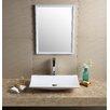 Fine Fixtures Modern Rectangular Bathroom Sink