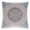 14 Karat Home Inc. Embroidered Medallion Throw Pillow