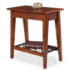 Leick Furniture Latisse Chairside Table