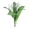 Gold Eagle USA Lily-of-the-Valley Flower Bouquet (Set of 6)