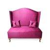 HappyBarok 2-Sitzer Einzelsofa Glamour