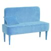 HappyBarok Pastel Upholstered Hallway Bench