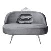 HappyBarok Glamour 3 Seater Loveseat