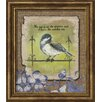 Carpentree Floral 'His Eye is on The Sparrow' Textual Art