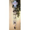 Faith Oh How He Loves Us Wind Chime - Carpentree Garden Statues and Outdoor Accents