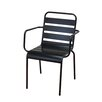 DHC Furniture Stacking Dining Arm Chair (Set of 2)