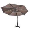 DHC Furniture 9.5' Cantilever Market Umbrella