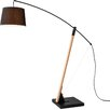 "Seed Design Archer 89.4"" Arched Floor Lamp"