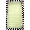 Atelier ëdele Stripes Organic Fitted Crib Sheet
