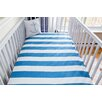 Atelier ëdele Stripes Organic Crib Fitted Sheet