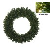 Darice Pre-Lit Battery Operated Canadian Pine Artificial Christmas Wreath