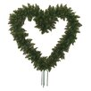 "Darice 1'10"" Artificial Pine Heart Shape Wreath with Ground Stakes"