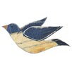 SKStyle Wood Bird Wall Hanging Wall Decor