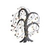 SKStyle Metal Windy Button Tree Wall Decor