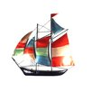 SKStyle Colour Sailing Ship Wall Decor