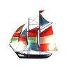 SKStyle Colour Sailing Ship Wall Decor