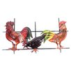 SKStyle Rooster and Hen Wall Decor