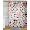 RT Designer's Collection Surf Shower Curtain Set