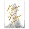 Kate and Laurel Gilded New York  Painting Print on Wrapped Canvas