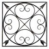 Bay Accents Square Arrow Metal Panel Wall Décor