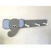 Maple Shade Kids Elephant Peg Rack