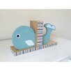 Maple Shade Kids Whale Bookend (Set of 2)