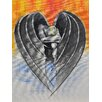 Buy Art For Less Dark Hearted by Ed Capeau Painting Print on Wrapped Canvas