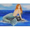 Buy Art For Less Nautical Mermaid by Ed Capeau Painting Print on Wrapped Canvas