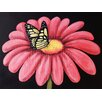 Buy Art For Less Butterfly's Snack by Ed Capeau Painting Print on Wrapped Canvas