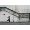 Buy Art For Less There Is Always Hope Balloon Girl by Banksy Graphic Art on Wrapped Canvas
