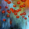 Buy Art For Less 'Passion Flows' by Gayla Hodson Painting Print on Wrapped Canvas