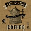 Buy Art For Less 'Grand Coffee' by Marilu Windvand Graphic Art on Wrapped Canvas