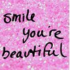 Buy Art For Less We Agree 'Smile You're Beautiful' Graphic Art on Wrapped Canvas