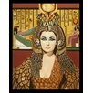 Buy Art For Less 'Elizabeth Taylor as Cleopatra' by Karl Black Framed Graphic Art