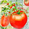 Buy Art For Less 'Green Grocer Tomatoes' by Jill Meyer Graphic Art on Wrapped Canvas