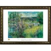 Buy Art For Less Museum Masters 'The Seine at Chatou' by Pierre-Auguste Renoir Framed Painting Print