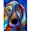 Buy Art For Less The Regal Beagle Painting Print on Wrapped Canvas